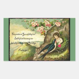 God's Unfailing Love Valentine Sticker