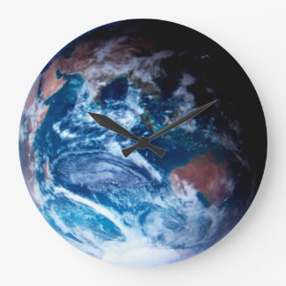 GOD'S VIEW OF EARTH #6 LARGE CLOCK