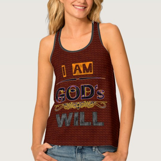 God's Will Tank Top