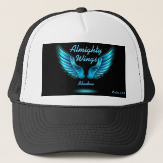 God's Wings Shadow Psalms 36:7 Hat Personalize