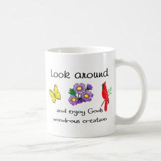 God's wondrous creation mugs