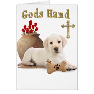 godshand greeting card
