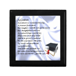 Godson poem - Graduation design Gift Box
