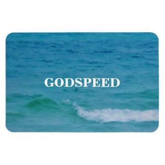 GODSPEED RECTANGULAR PHOTO MAGNET