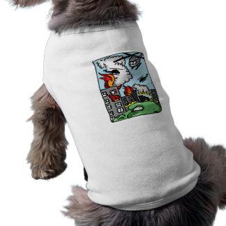 Godzilla Pet T-shirt