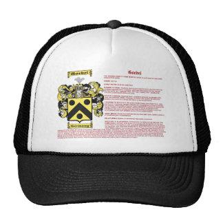 Goeble (meaning) trucker hat