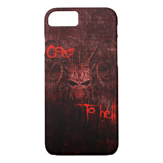 Goes to hell Case-Mate iPhone case