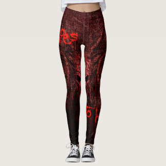 Goes to hell leggings