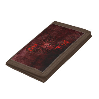 Goes to hell tri-fold wallet