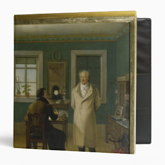 Goethe Dictating to his Clerk John, 1834 Binders