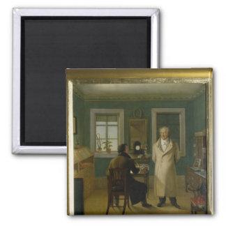 Goethe Dictating to his Clerk John, 1834 Magnet