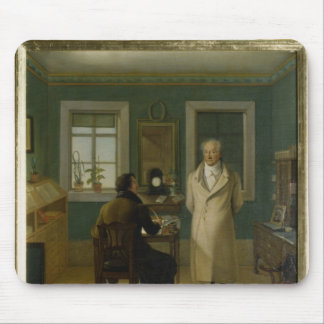 Goethe Dictating to his Clerk John, 1834 Mouse Pad