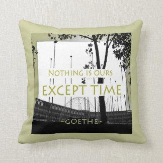 Goethe Quote Pillow
