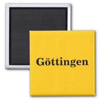 Goettingen magnet sign gold Gleb