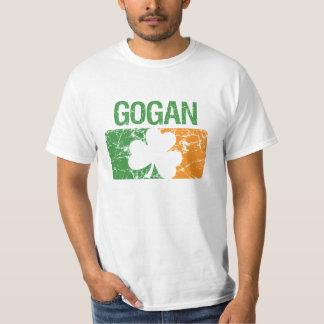 Gogan Surname Clover T-Shirt