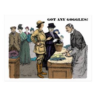 Goggles Postcard