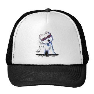 Goggles Westie Cap Trucker Hat