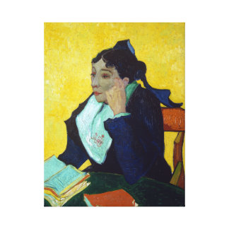 Gogh L'Arlésienne Madame Joseph-Michel Ginoux Canvas Print