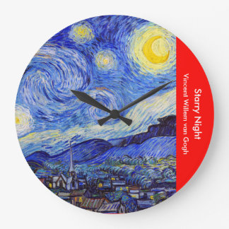 "Gogh, ""Starry Night"" Wallclocks"