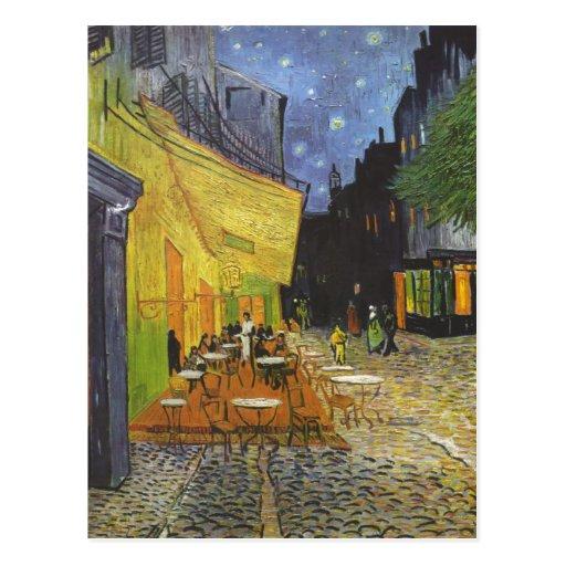 Gogh, Vincent van Caf?terasse bei Nacht Cafe Terra Postcards
