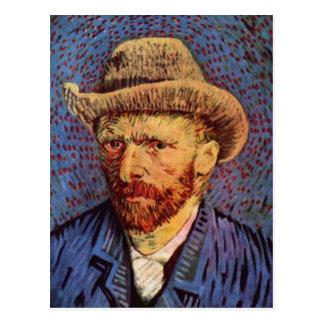 Gogh, Vincent Willem van Selbstportr?t mit grauem  Postcard