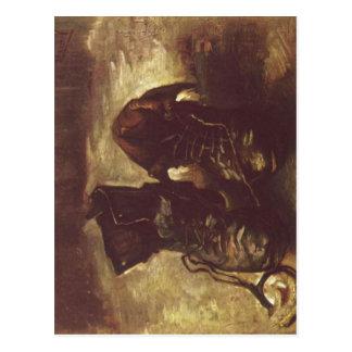 Gogh, Vincent Willem van Stilleben, Ein Paar Schuh Postcard