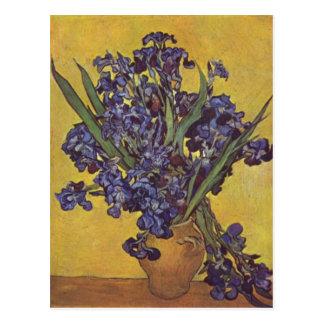 Gogh, Vincent Willem van Stilleben mit Schwertlili Postcard