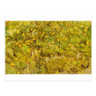 Gogh Yellow Blossoms Whimsical Wedding Personalize Postcard