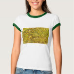 Gogh Yellow Blossoms Whimsical Wedding Personalize Shirts