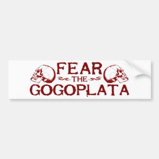 Gogoplata Bumper Sticker