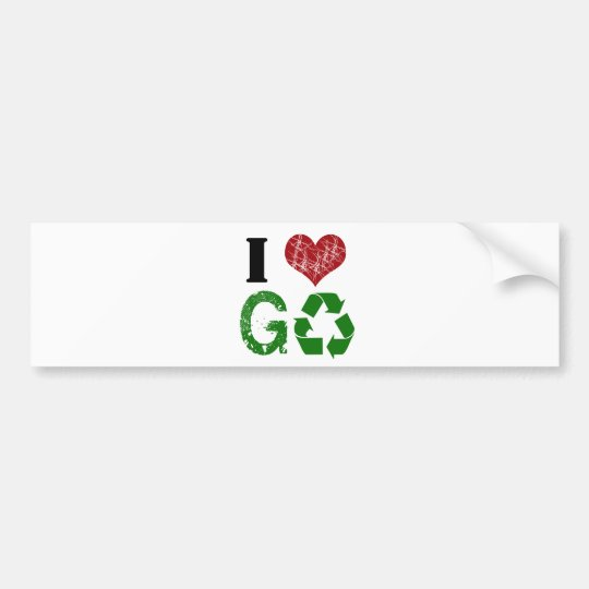 GOGREEN BUMPER STICKER