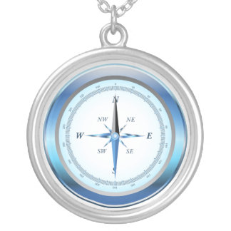 Goin' South Compass Necklace