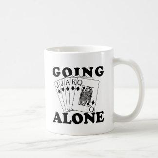 Going Alone Classic White Coffee Mug