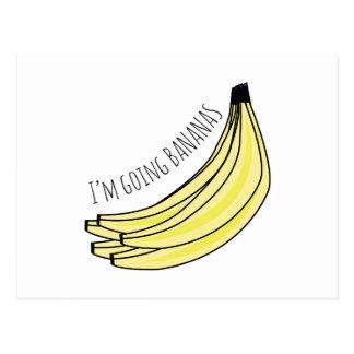 Going Bananas Postcard