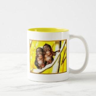 Going Bananas Two-Tone Coffee Mug