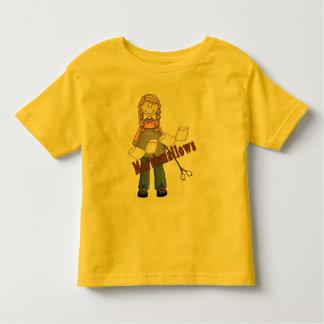 Going Camping Girl Toddler T-shirt
