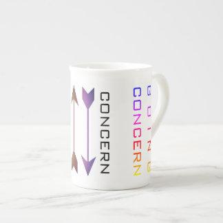 """Going Concern"" Tea Cup"