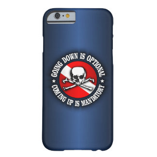 Going Down Is Optional (rd) iphone 6 cases