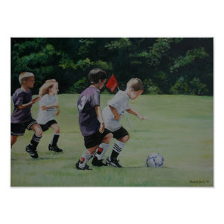 Going for the Goal Reproduction Print