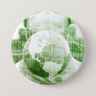 Going Forward with Business Success and Growth 3 Inch Round Button