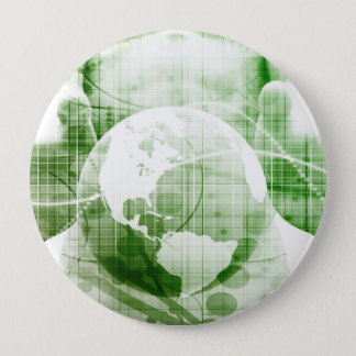 Going Forward with Business Success and Growth 4 Inch Round Button