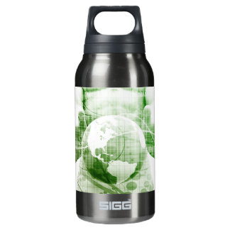 Going Forward with Business Success and Growth Insulated Water Bottle
