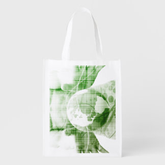 Going Forward with Business Success and Growth Reusable Grocery Bag
