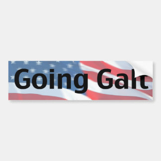 Going Galt Bumper Sticker