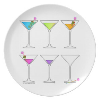 Going, Going, Gone Disappearing Martini Plate