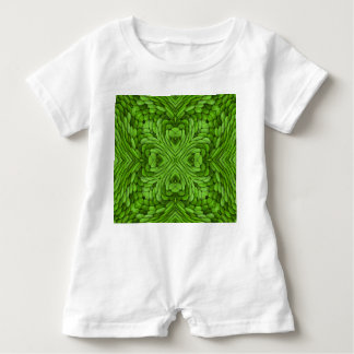 Going Green Colorful Baby Apparel Baby Romper