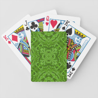Going Green Colorful Bicycle® Playing Cards