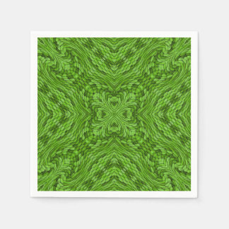 Going Green Colorful Cocktail Napkins Disposable Napkin