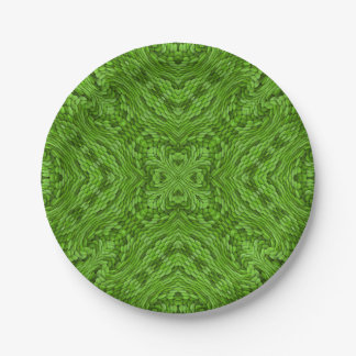 Going Green Colorful Paper Plates 7 Inch Paper Plate