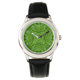 Going Green Colorful  Vintage Kids Watch